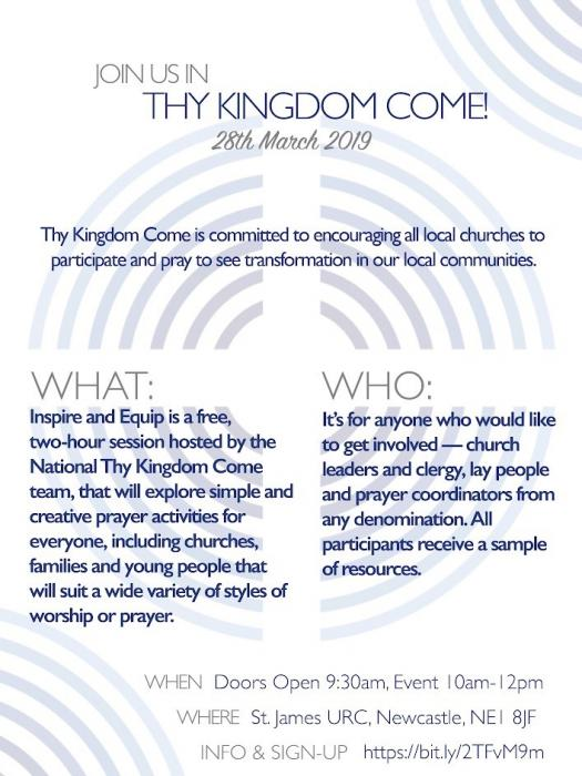 Thy Kingdom Come Flyer